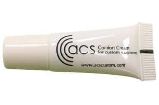 Comfort Cream for Custom Earpieces