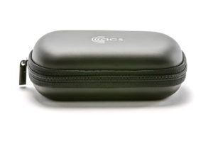 ACS PRO Zip Pouch. Small soft zip pouch for PRO earplugs