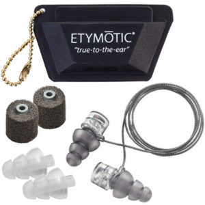 Etymotic ER20XS earplugs included