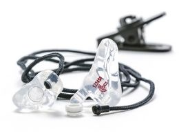 Custom-moulded Earplugs hearing protection