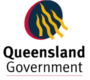 logo queensland govt